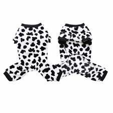 Lã Quente Cachorro Pijama Macacão casaco roupas Pet Gato Fantasia De Cachorrinho Homewear Novo