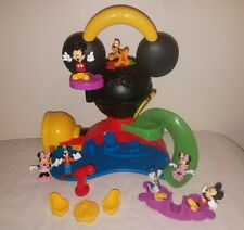 Fisher Price MICKEY MOUSE CLUBHOUSE FLY N SLIDE PLAYSET Goofy Donald Duck Figure