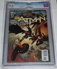 DC Comics New 52 Batman 2 CGC 9.6 1st App Talon Greg Capullo Cover 2011