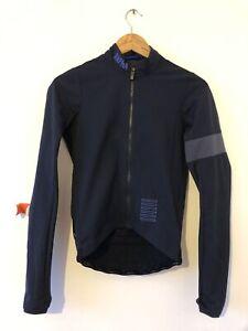 Rapha PRO TEAM Winter Training Jacket Dark Navy Windstopper Fleece lined Shadow