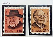 2 X Timbre Stamp Islande Island 1980 YT 505 506 EUROPA CEPT Neufs