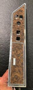 OEM RARE 1975-79 LINCOLN CONTINENTAL MARK IV Passenger window seat switch bezel