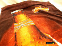 "BUDWEISER BEACH TOWEL-COPA BRAND-54""x30""(APPROX)-USED-SLIGHTLY DISTRESSED-AS IS!"