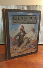 KIDNAPPED ROBERT LOUIS STEVENSON 1913 FIRST WYETH EDITION