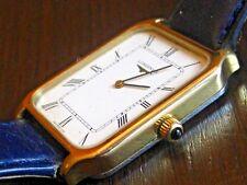 0c59fac17357 Reloj De Pulsera Longines Hermoso Cuadrante Romano De Lujo Para Hombre Reloj  de .
