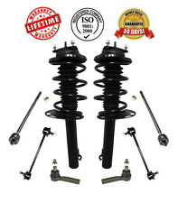 New Front Complete Struts Sway Bar Links Inner & Outer Tie Rods Ford Focus 09-11