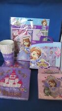 BRAND NEW SOFIA THE FIRST PARTY SUPPLIES