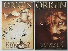 Wolverine The Origin #s 3 III and 4 IV of 6 VI Limited Series 2002 Marvel Comics