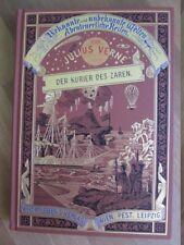 Jules Verne Der Kurier des Zaren Prachtausgabe Hartleben Bücherbund