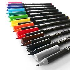 Edding - colourpen - Fine pointu fibrepen - 0.5mm pour 1.0MM - Portefeuille de