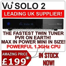 VU+ Solo2 Solo 2 Twin Tuner DVB-S/S2 HD Linux Satellite Receiver PVR Ready