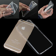 Transparent Crystal Soft TPU Silicone Gel Cover Case for iPhone 6Plus 6SPlus New