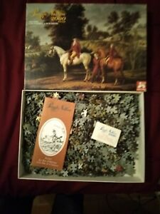 puzzle 2000 pieces/carle vernet duc d'orleans/complet/1979/nathan/98x75cm