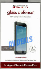 ZAGG InvisibleShield Protective Glass iPhone 6 Plus, 6s Plus, 7 Plus, 7s Plus
