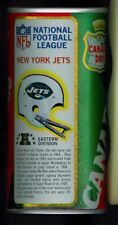 1976 Canada Dry Ginger Ale Soda Pop Can Football NFL League New York Jets