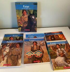 American girl Kaya 1-6 Book boxed set Excellent paperback