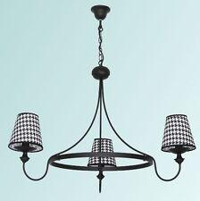 Deckenlampen & Kronleuchter im Vintage/Retro-Stil aus Stoff