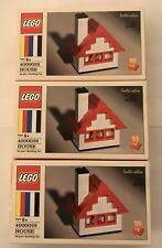 Lot 3 2018 Lego 60th Anniversary House Set Sealed Limited Edition 4000028