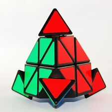 Shengshou ABS Speedcubing Puzzle Pyraminx Cube Color Black Christmas Gift New