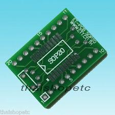 SOP-20 SOP20 to DIP-20 Pin Adapter PCB SMD Convert