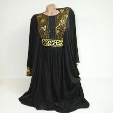 Abaya Maxi abito arabo sera abito da sera takschita jellabiya djelaba giuramento 2xl 3xl