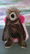 "IKEA Teddy Bear Plush CUDDLY Brown Klappar Nalle Kid Soft Toy tan lovey baby 20"""