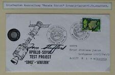 S1375) spaziale Apollo-Soyuz Test Project weraba Zurigo 1976 Autopen Stafford