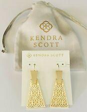 Kendra Scott Earrings Gold Tone