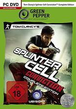Tom Clancy's Splinter Cell Conviction - Complete Edition (PC, DVD-Box) neuwertig
