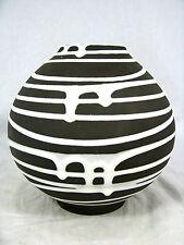 """Seltene 50´s Liesel Spornhauer Design Schloßberg Keramik Vase """" Roulette"""" 232/15"""