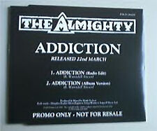The Almighty, Addiction, NEW/MINT U.K. promotional CD single
