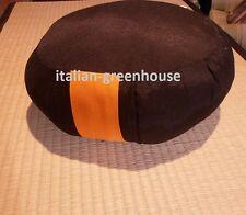 Zafu  cuscino futon da meditazione nero- zafu cuschion meditation black