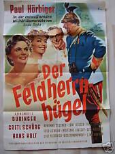 DER FELDHERRNHÜGEL - Paul Hörbiger - Filmplakat A1 - 1953
