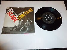 "SLADE - C'Est La Vie - 1982 UK 7"" Vinyl Single"