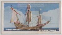 Santa Maria Christopher Columbus Flagship America 1930s Trade Ad Card