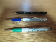 Vintage Lot Of 3 Mechanical Pencils Rca Endresen / 1955 Calendar / Man's Name