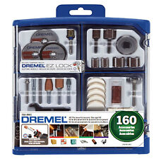 Dremel 160pcs Mini Accessory Kit 26150710AK for Cutting, Grinding, Sanding & etc