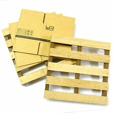 YA-0399 1/10 RC Rock Crawler Truck Body Shell Cover Wooden Loading Pallet
