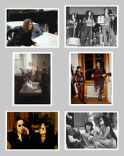 LOT OF 6 JOHN LENNON-YOKO-MAY PANG 1960'S VARIOUS PHOTOS UNIQUE 5x7 CLASSIC 290