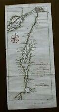 Carte de la Riviere de Richelieu et du Lac Champlain a 1744 from Charlevoix