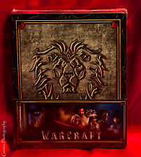 Warcraft: The Beginning 3D + 2D Edition Steelbook w/Alliance Slip Region Free