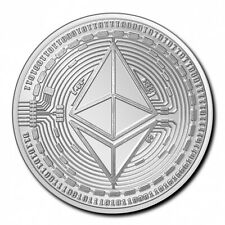 TCHAD 5000 Francs Argent 1 Once Crypto Série - Ethereum 2020
