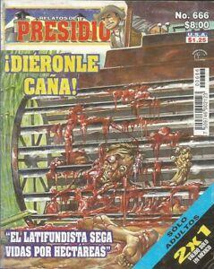 RELATOS DE PRESIDIO MEXICAN COMIC #666 MEXICO SPANISH HISTORIETA 2007 CRIME