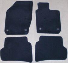 NEW GENUINE SEAT IBIZA 6J FRONT + REAR BLACK FLOOR CARPET MATS SET
