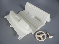 Interior Seat + steering wheel Tamiya 1/10 R/C Toyota Hilux Bruiser Mountaineer