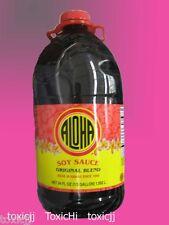 ALOHA SHOYU soy sauce Hawaii 1/2 gallon 64oz