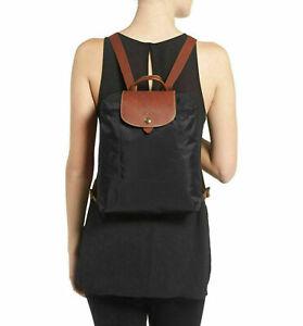 Longchamp Le Pliage Nylon Backpack Authentic new Black Bag