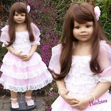 Masterpiece Dolls, Jillian, Brown Hair Brown Eyes, Monka Levenig, 39""