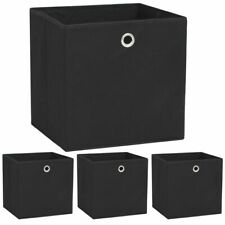 Vidaxl 10x Boîtes de Rangement Tissu Non-tissé Stockage Chaussette Garde-robe