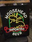 Moosehead Beer Light Up Bar Sign